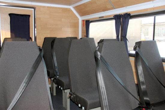 пассажирский салон вахтового ГАЗ-33081 Садко