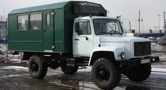 ГАЗ-33081 (вахтовый) на IronHorse.ru ©