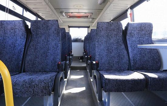 пассажирский салон НефАЗ-42111