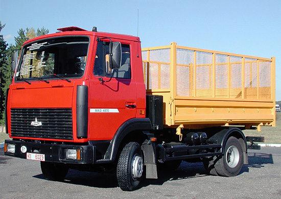 МАЗ-4570 (самосвал)