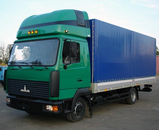 дорестайлинговый МАЗ-4370 (Зубренок 2)