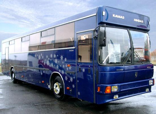 междугородний НефАЗ-5299 (2003 модельного года)