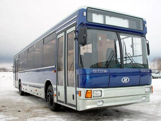 пригородный НефАЗ-5299 (2001 модельного года)