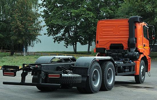 шасси КамАЗ-6580 6х4