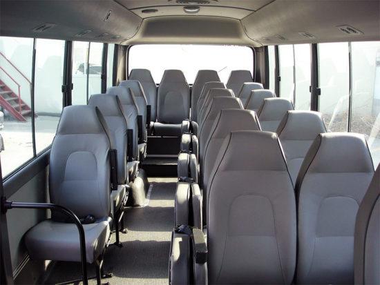 пассажирский салон Hyundai County