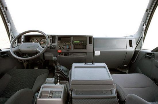 интерьер кабины ISUZU Forward 12.0