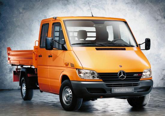 бортовой Mercedes-Benz Sprinter 1-го поколения (рестайлинг)
