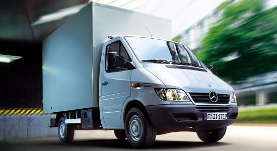 Mercedes-Benz Sprinter 1 Chassis на IronHorse.ru ©