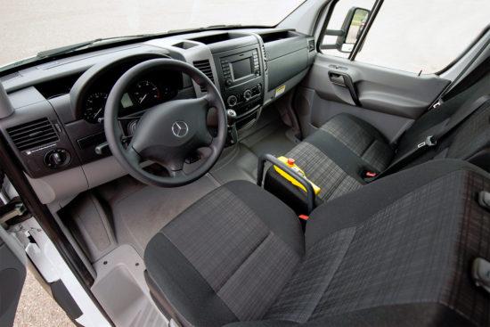 интерьер салона Mercedes-Benz Sprinter 2 Chassis (W906)