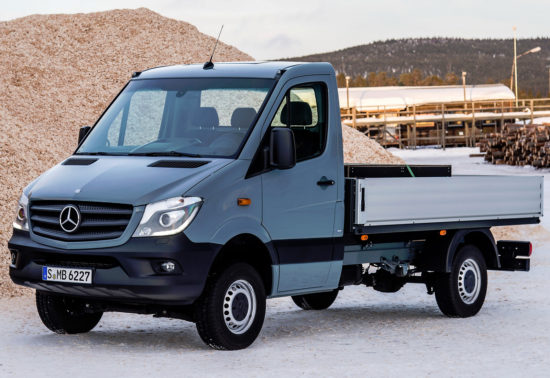 бортовой Mercedes-Benz Sprinter 2 (W906) 2013-2017