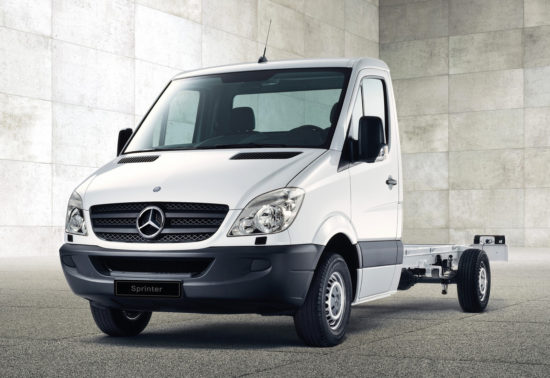 Mercedes-Benz Sprinter Chassis (W906) 2006-2013