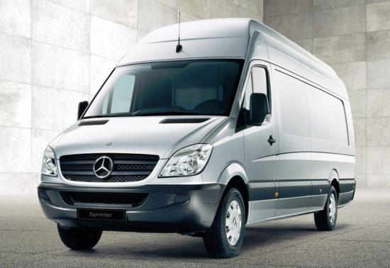 цельнометаллический фургон Mercedes-Benz Sprinter (W906) 2006-2013