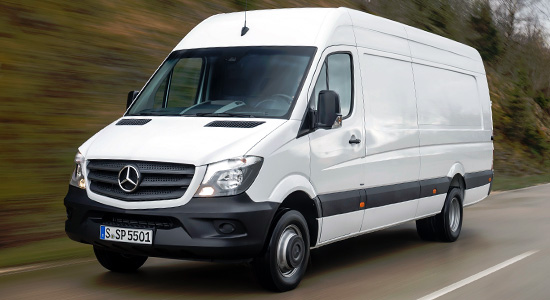 Mercedes-Benz Sprinter 2 Van на IronHorse.ru ©