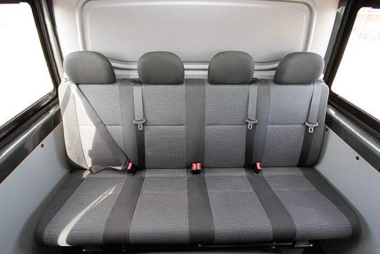 второй ряд пассажирских кресел Mercedes-Benz Sprinter Mixto Classic