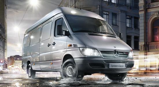 Mercedes-Benz Sprinter Classic Van на IronHorse.ru ©