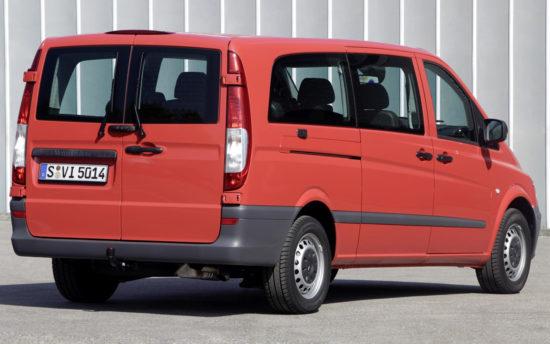 микроавтобус Mercedes-Benz Vito (W639)