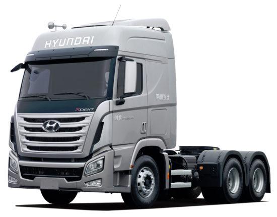 седельный тягач Hyundai Xcient 6х4
