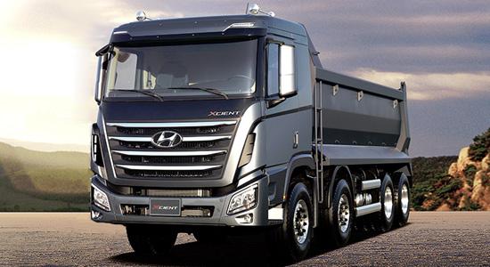 Hyundai Xcient 8x4 (самосвал) на IronHorse.ru ©