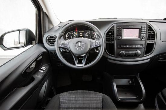 интерьер Mercedes-Benz Vito Tourer (W447)