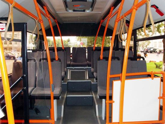 пассажирский салон МАЗ-206