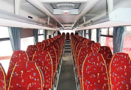 пассажирский салон МАЗ-231