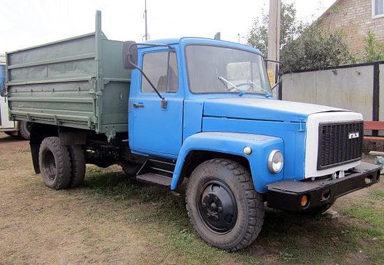 самосвал ГАЗ-3307 2000-х годов