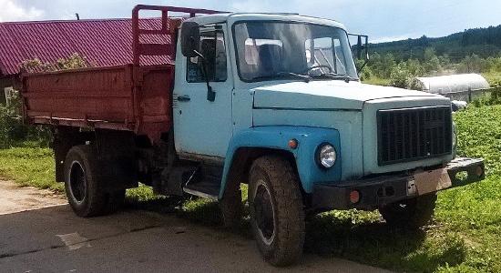ГАЗ-3307 (самосвал) на IronHorse.ru ©
