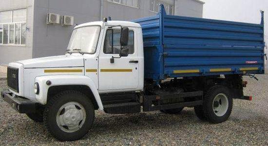 ГАЗ-3309 (самосвал) на IronHorse.ru ©