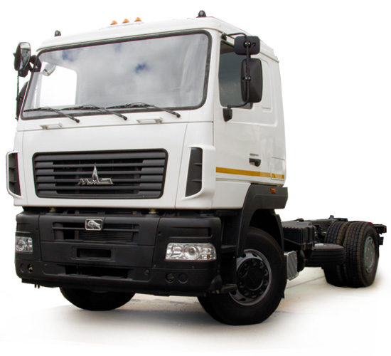 шасси МАЗ-5550 2012 модельного года