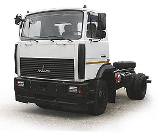 шасси МАЗ-5550 2006-2011