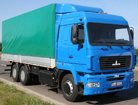 МАЗ 6312 (рестайлинговый)