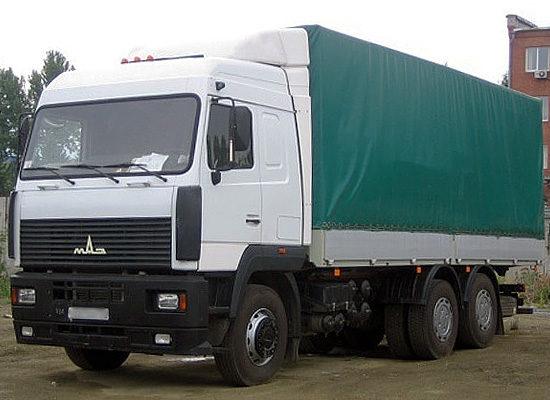 МАЗ 6312 (дорестайлинговый)