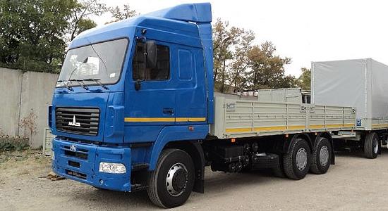 МАЗ-6312 (бортовой/шасси) на IronHorse.ru ©