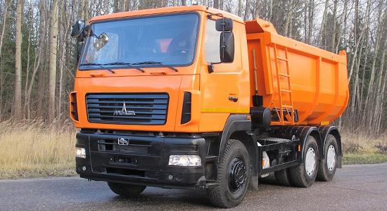 МАЗ-6501 (самосвал) на IronHorse.ru ©