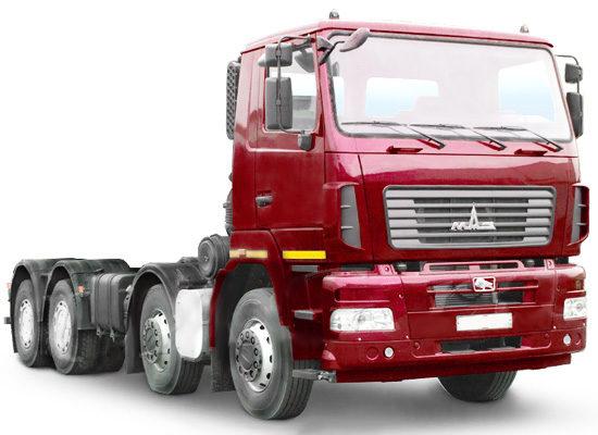 шасси МАЗ-6516