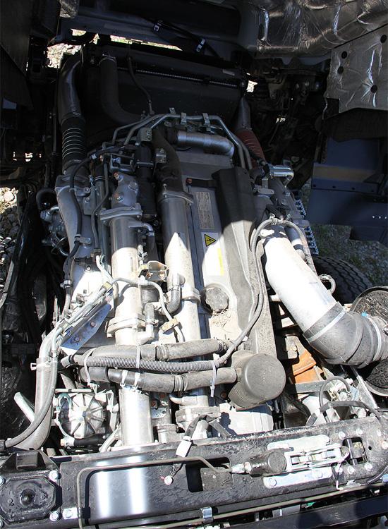 двигатель самосвала ISUZU GIGA 6х4 Евро-5