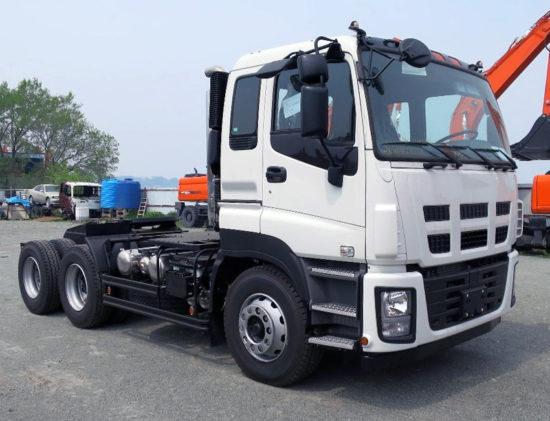 седельный тягач ISUZU GIGA 6х4 Tractor Euro-5