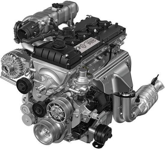 двигатель ZMZ-PRO