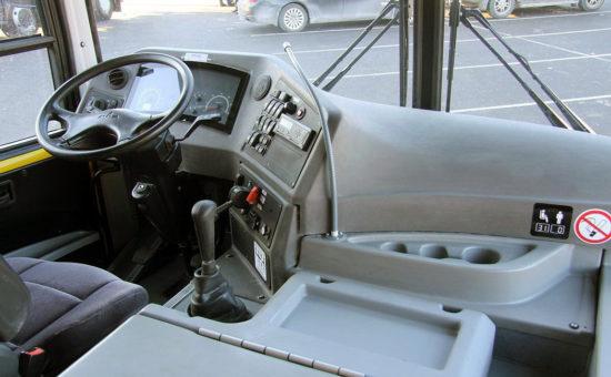 место водителя МАЗ-257