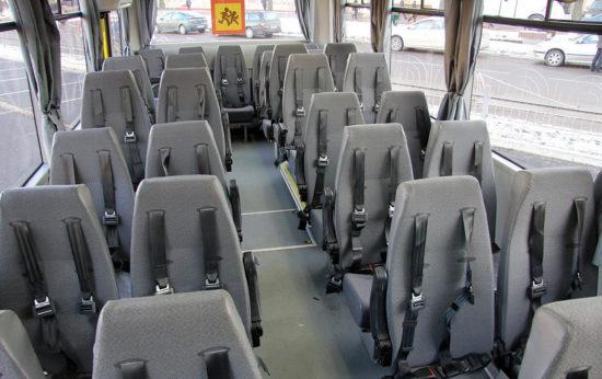 пассажирский салон МАЗ-257