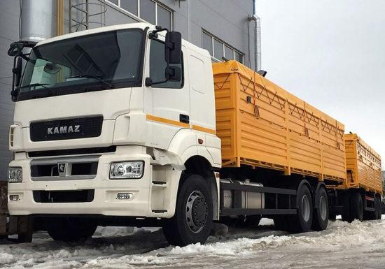 зерновоз КамАЗ 65207