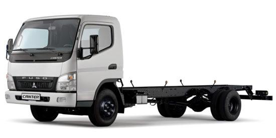 Mitsubishi Fuso Canter 7 Chassis
