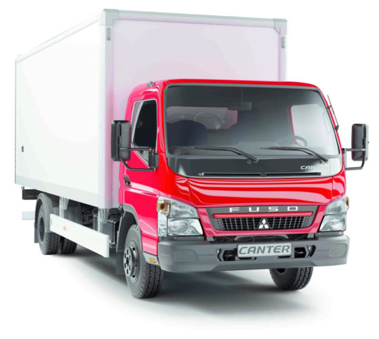 промтоварный фургон Mitsubishi Fuso Canter FE85D