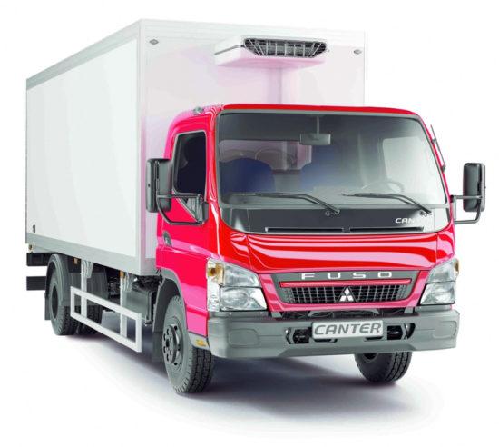 изотермический фургон Mitsubishi Fuso Canter FE85D