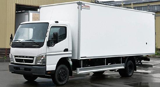 Mitsubishi Fuso Canter 7 (фургон) на IronHorse.ru ©