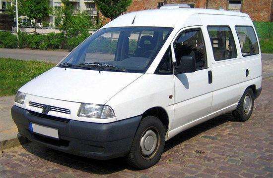 микроавтобус Пежо Эксперт 1 (1995-2003)