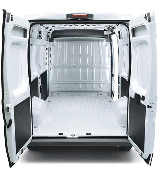 грузовое отделение Citroen Jumper 3 Van