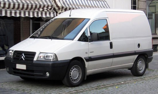 цельнометаллический Citroen Jumpy 1 Van 2005-2006