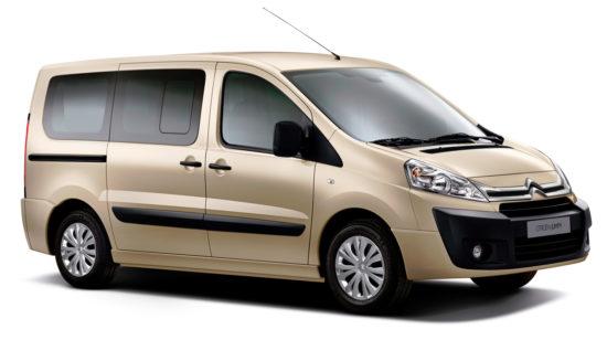 микроавтобус Ситроен Джампи Мультиспейс 2-го поколения