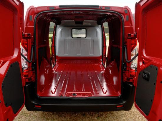 грузовой отсек Citroen Jumpy 2 Van